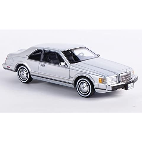 Lincoln Mark VII LSC, silver, 1984, Model Car, Ready-made, Neo 1:43 by LINCOLN