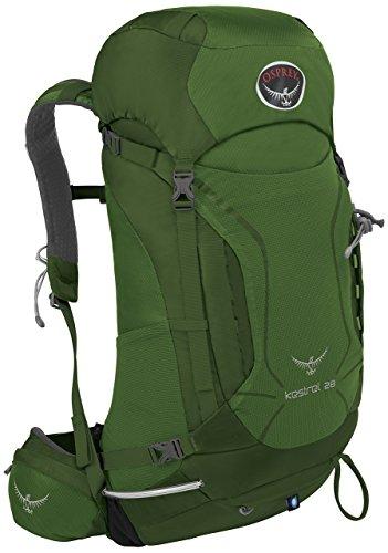 Osprey Kestrel 28 Nylon Verde mochila - Mochila para portátiles y netbooks (Nylon, Verde, Monótono, Hombres, Cremallera, 300 mm)