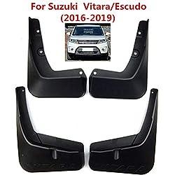 SLONGK 4 Teile/Satz Auto Schmutzfänger Spritzschutz Schmutzfänger, Für Suzuki Vitara Escudo (2016-2019)