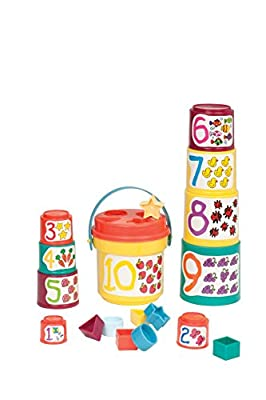 Battat Sort and Stack Toddler Activity Toy by Battat