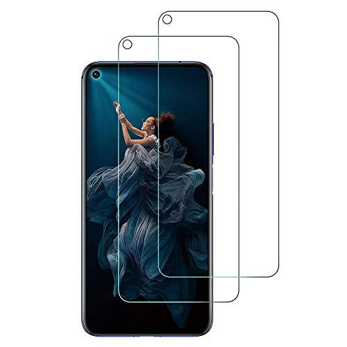 widamin 2pack, vetro temperato compatibile con nova 5t / honor 20 / honor 20 pro, pellicola in vetro, [alta definizione], [no-bubble] screen protector per huawei nova 5t / honor 20