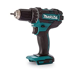 Makita DDF482Z Bohrschrauber 18,0 V (ohne Akku, ohne Ladegerät), 18 V, Schwarz, Blau