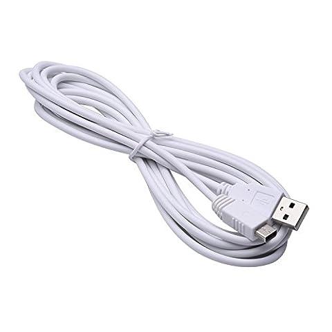 DelTex® 10 Feet / 3 Meter Extra Long USB Power