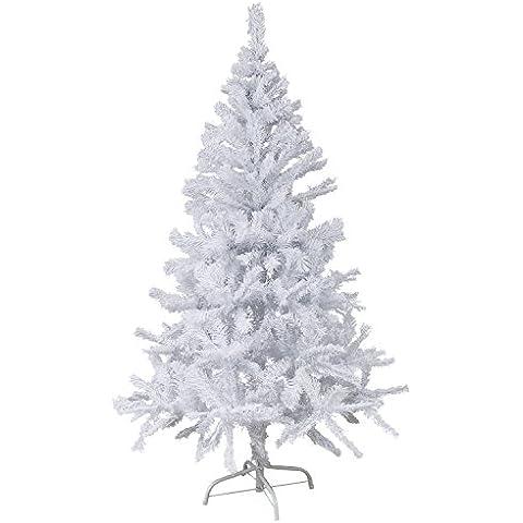 Special-Trends - Árbol de Navidad (150 cm de altura, de plástico, con pie de soporte), color