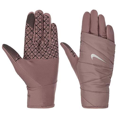 Nike Women´s Quilted Run Handschuhe 2.0 Fingerhandschuhe Damenhandschuhe (S - rosa)