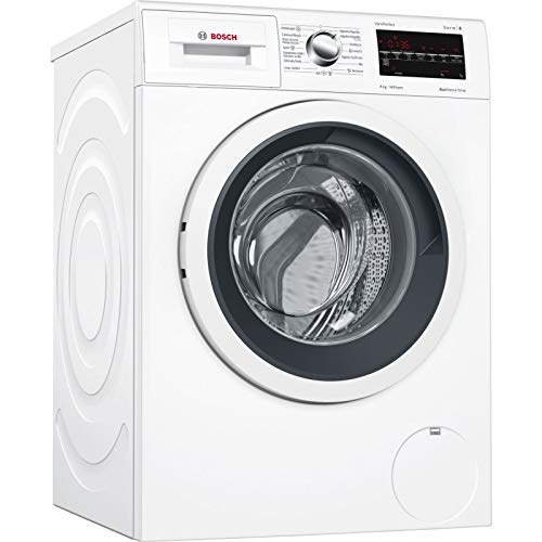 4 - Bosch Serie 6 WAT28469ES Independiente Carga frontal 8kg 1400RPM A+++-30% Negro, Color blanco - Lavadora (Independiente, Carga frontal, Negro, Color blanco, Izquierda, LED, Acero inoxidable)