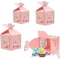 30x Favores Cajas para la Boda Cumpleaños Fiesta de Bienvenida al Bebé Sagrada Comunión Fiesta de