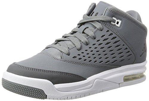 Nike Jordan Flight Origin 4 BG, Scarpe da Basket Uomo, Grigio (Cool Black/Dk Grey/White), 38 EU