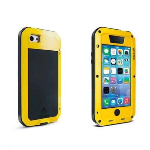 VicTsing Gelb Metall Metallic Fest Case Schutzhülle für Apple iPhone 5C