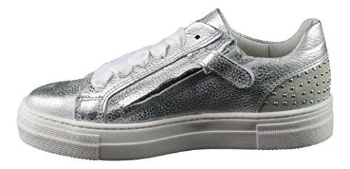 HIP , Chaussures de ville à lacets pour fille argent Silber Silber