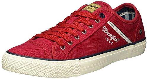 Wrangler Herren Starry Low Top Rot (rosso)