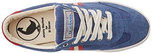 El Ganso Unisex-Erwachsene Match Washed Classic Ribbon Fitnessschuhe Blau (Marineblau einfarbig)