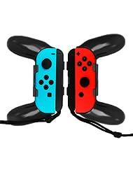WindTeco Nintendo Switch Joy-Con Grip, [2er Pack] Anti-Rutsch Griff Komfort Griff Griffhalter für Nintendo Switch Joy-con Controller