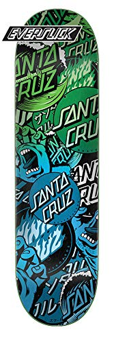 Santa Cruz Skateboard Deck Classic Collage Everslick 8.25'' Deck