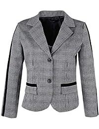 665038f0a2af Amazon.it: giacca scozzese - Grigio / Donna: Abbigliamento