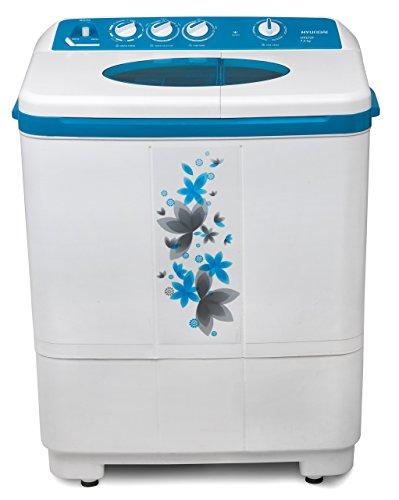 Hyundai 7.2 kg Semi-Automatic Top Loading Washing Machine (HYS72F, Luminous...