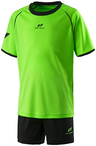 Pro Touch Kinder Match Trikot-Set, Grün, 128