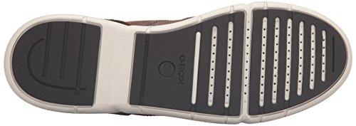 Geox U Brattley A - Scarpe da Ginnastica Basse Uomo Braun (CIGARC6007)