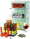 Ce Beer Kit débutant vous permet de brasser votre propre bière ambrée à la maison. Le brassage à partir d'extrait de malt en poudre vous permet d'avoir 100% de chance de réussir votre bière et d'entrer dans le monde du brassage en toute tranquilité. ...