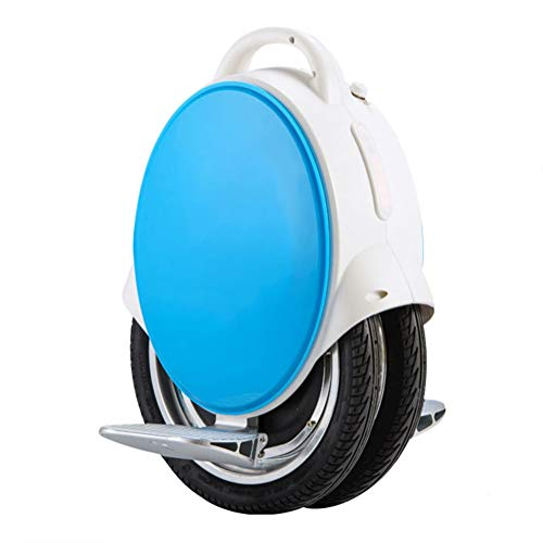 HOPELJ Eléctrico Monociclo, 170Wh Self Balancing Unicycle con Bluetooth, 350W Eléctrico Single Wheel 14 Pulgadas, hasta 23 km de Alcance,Blue