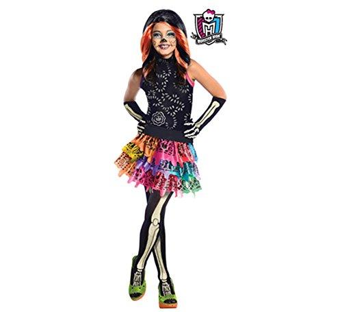 Generique - Skelita Calaveras Monster High-Kostüm für Mädchen (Skelita Mädchen Kostüm)