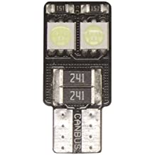 Superlite BOM12642 Bombillas 4 LED, CANBus W5W, T 10, 501, 194, Blanco Hielo