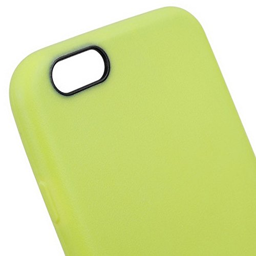 GHC Cases & Covers, Anti-Rutsch-mattierter TPU-Koffer für iPhone 6 Plus & 6S Plus ( Color : Green ) Green