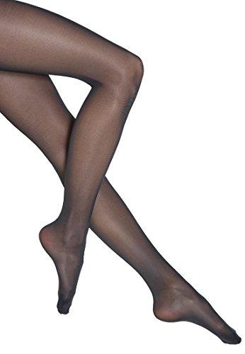 Wolford Damen Strumpfhosen (LW) Synergy 40 leg support, 40 DEN,black,Small (S) -