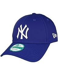 Marque :  new era-modèle :  9Forty-casquette réglable league new york yankees basic en blanc, noir, gris, rouge, bleu marine