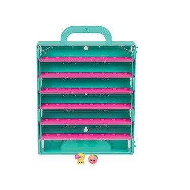 Shopkins – Pop Up Shop – Boite de Rangement + 2 Mini Figurines