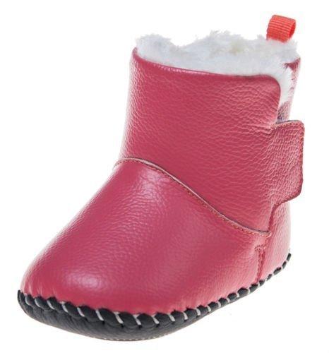 little-blue-lamb-chaussons-de-bottes-chaussons-en-peluche-pour-bebe-rose-rose-hummer-rot-18-24-monat