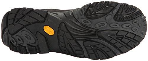 Merrell Moab Adventure Mid Waterproof, Stivali da Escursionismo Alti Uomo Nero (Black)
