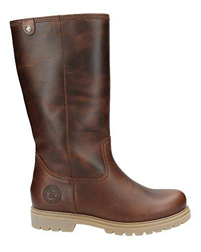 PANAMA JACK Damen Winterstiefel Bambina Igloo,Frauen Winter-Boots,Fellboots,Lammfellstiefel,Fellstiefel,gefüttert,warm,Lederfarben,EU 36