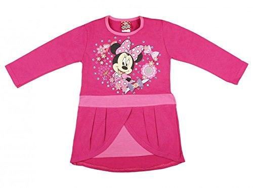 BABY-KLEID / Mädchen Kleid LANG-ARM von Disney Minnie -