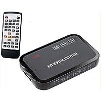1080P Media Player Center RM/RMVB/AVI/MPEG Multi Media Video Player with HDMI YPbPr VGA AV USB SD/MMC Port Remote Control GV484