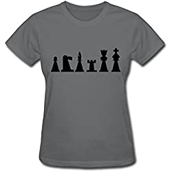 Women's Chess King T-Shirt Small
