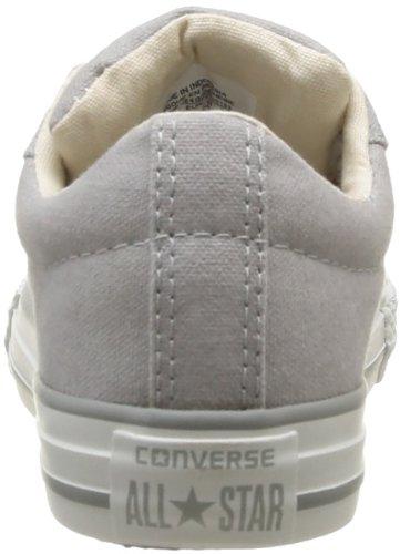 Converse Ctas Street Ox Noir, Baskets mode mixte enfant Gris
