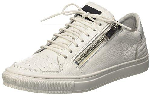 Antony Morato Mmfw00733-Le300002, Sneaker a Collo Basso Uomo, Bianco, 42 EU
