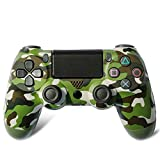 PS4 Controller Wireless Bluetooth Game-Controller Dualshock Gamepad Für Playstation 4 Touch Panel Joypad Mit Dual-Vibration,Green