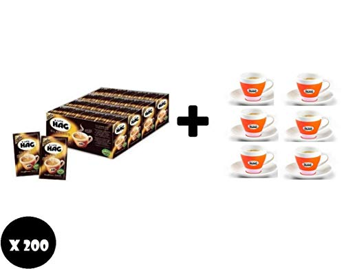 CAFFE' DECAFFEINATO BUSTINA MONODOSE 200 e43 6 TAZZINE ORIGINALI