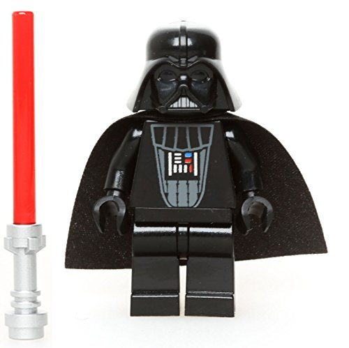 LEGO Star Wars Minifigure - Darth Vader Original Classic Version with Lightsaber (6211) by LEGO
