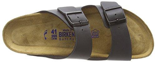 Birkenstock Classic Arizona Birko-Flor Softfootbed Unisex-Erwachsene Pantoletten Black