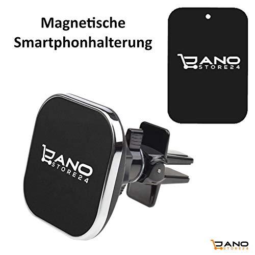 JANOSTORE24 Handy Halterung - Autohalterung - Universal - KFZ Magnet Auto Halter - für alle iPhone Modelle - Samsung Galaxy - Huawei und für alle Anderen Handymodelle und Navi.
