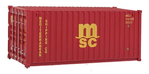 échelle H0 - Container 20 Pieds Méditerranée Expédition Co. Ltd. MSC