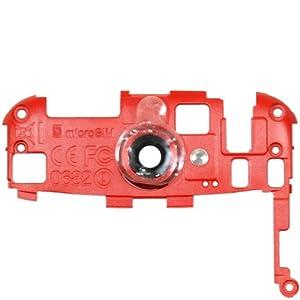 Original HTC Kamera-Cover für das HTC One S - red / rot