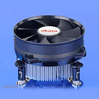 Akasa AK-CC7108EP01 Heatsink and Fan includes 92mm Low Noise PWM Fan for Socket 775/1155/1156/CPUs Upto 77W