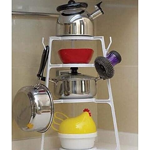 JSGN-Multipurpose Cucina Pot Set di Frame bagagli Layer (Quattro strati)