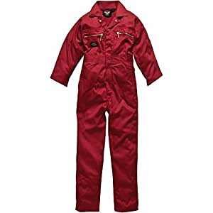 Dickies Kinder-Overall Redhawk, Größe 116, rot, 1 Stück, WD4839J RD 24