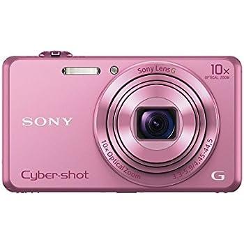 "Sony DSC-WX220 - Cámara compacta de 18 Mp (pantalla de 2.7"", zoom óptico 10x, estabilizador óptico, vídeo Full HD), rosa"