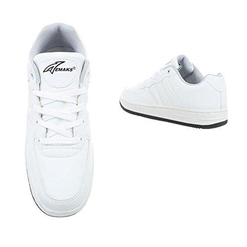 Sneakers Ital-design Sneakers Da Uomo Stringate Basse Stringate Basse Da Uomo